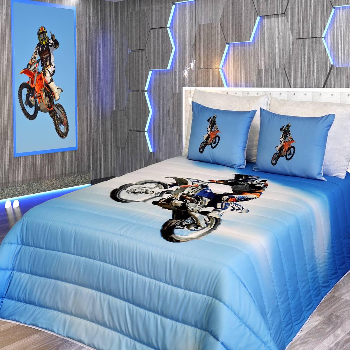 Edredão Motocross